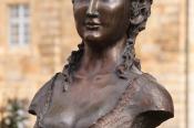 Bronzebüste Markgräfin Wilhelmine