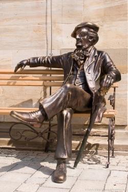 Skulptur Richard Wagner