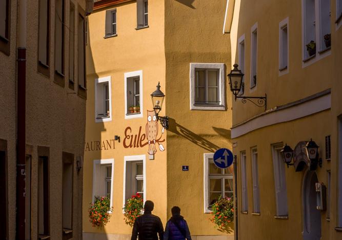 Unterwegs zum Bayreuther Traditionsrestaurant Eule