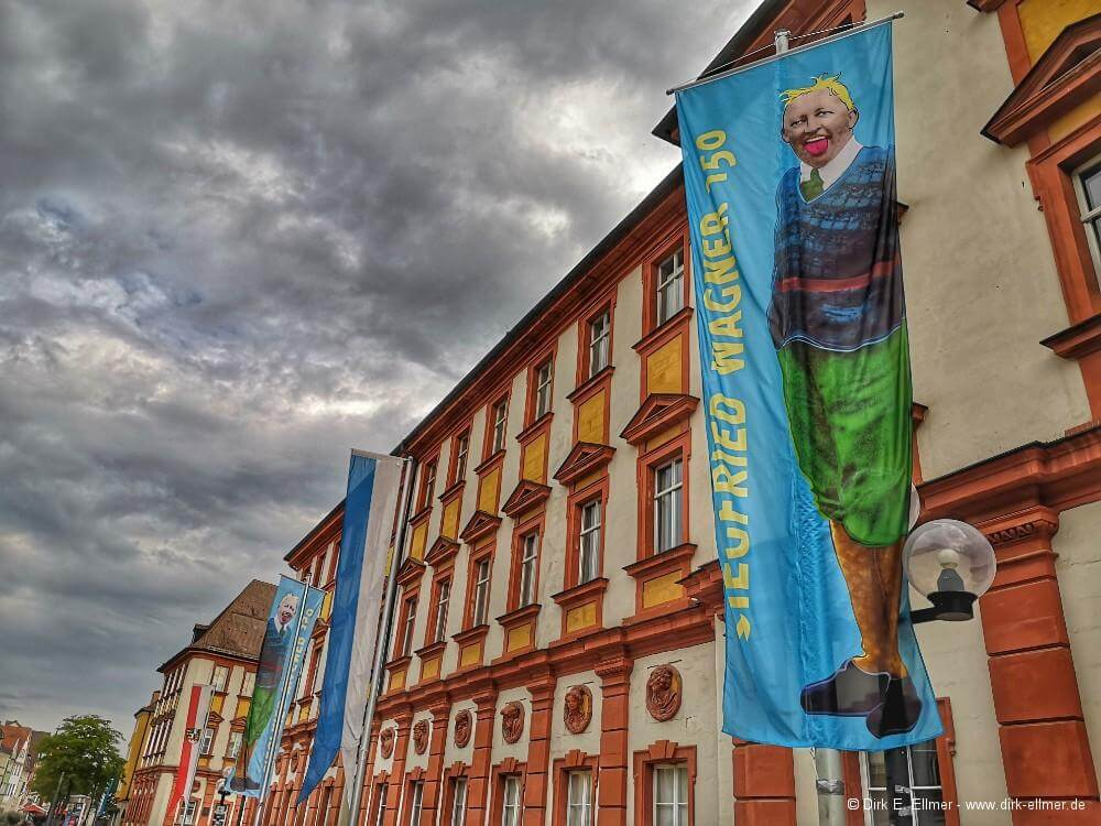 Ausstellung vom 24. Juli bis 28. August - Siegfried Wagner zum 150.